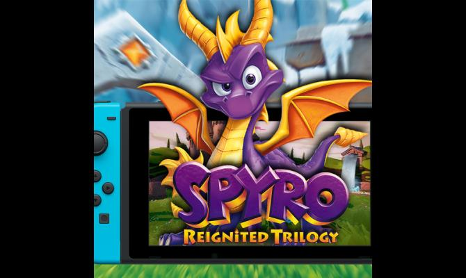 Ovaj vikend smo igrali Spyro Reignited Trilogy na Nintendo Switch konzoli!