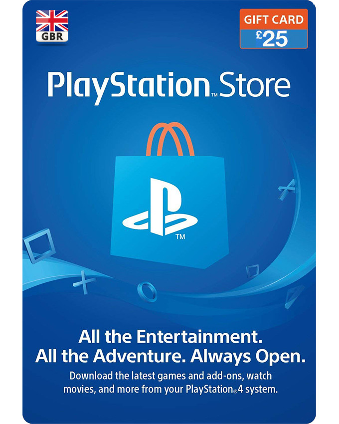 Playstation Wallet PSN Gift Card £25 UK