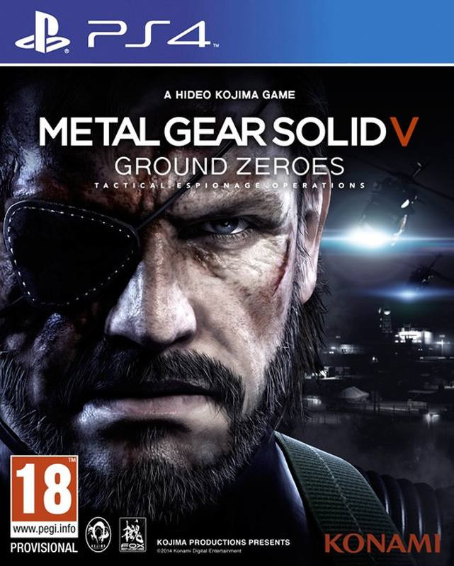 PS4 Metal Gear Solid 5 - Ground Zeroes