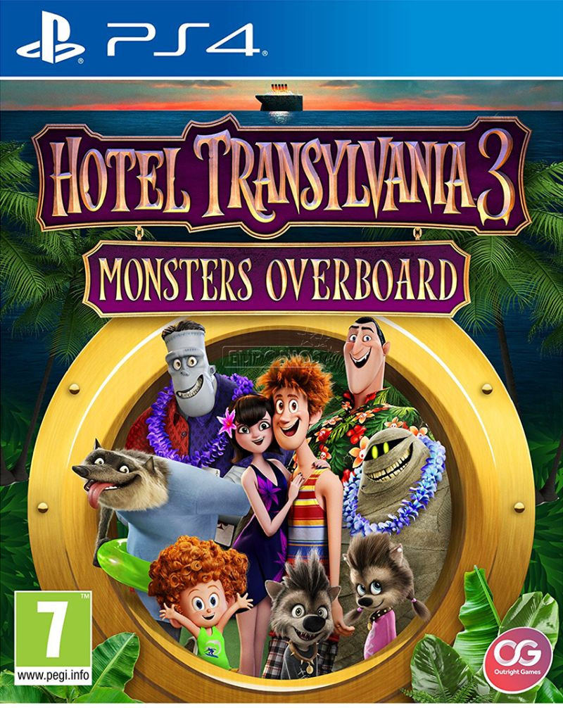 PS4 Hotel Transylvania 3 - Monsters Overboard