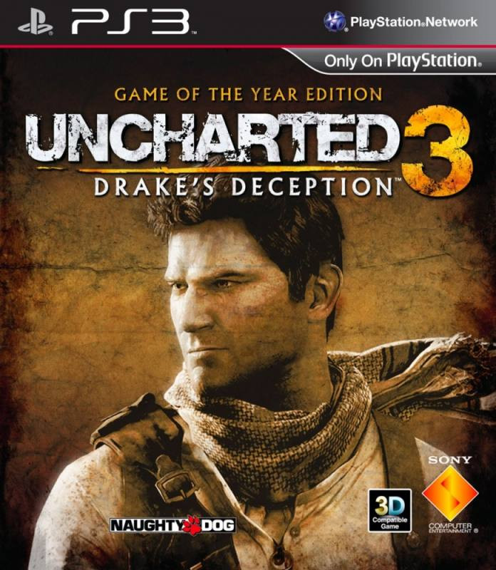 PS3 Uncharted 3 GOTY