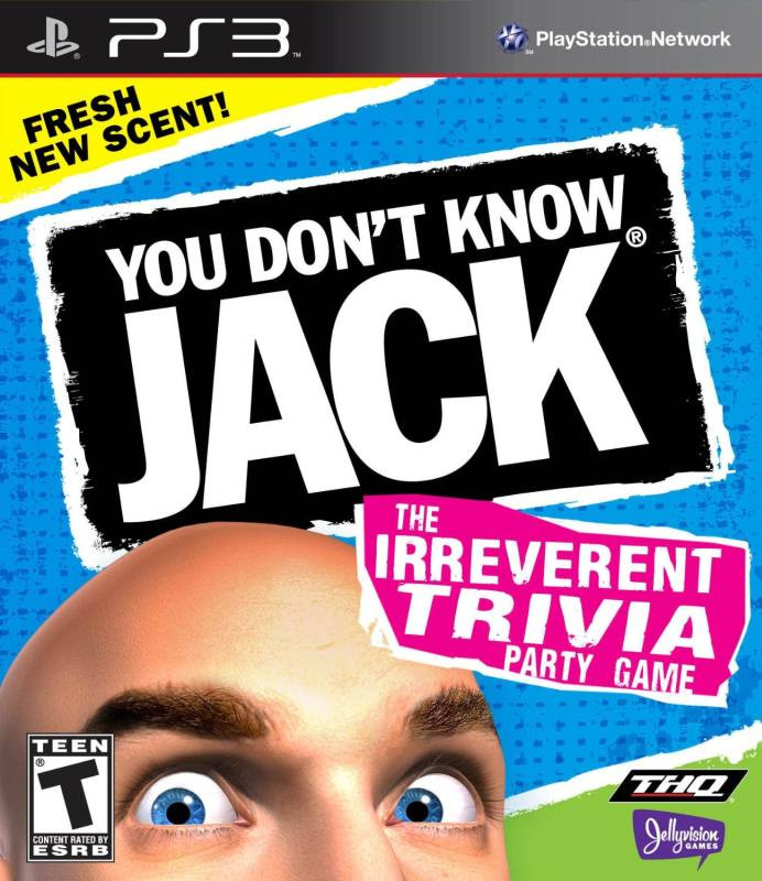 PS3 You Dont Know Jack - The Irrevent Trivia Party Game