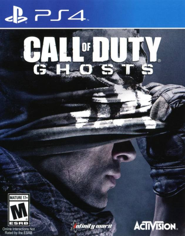 PS4 Call of Duty - Ghosts