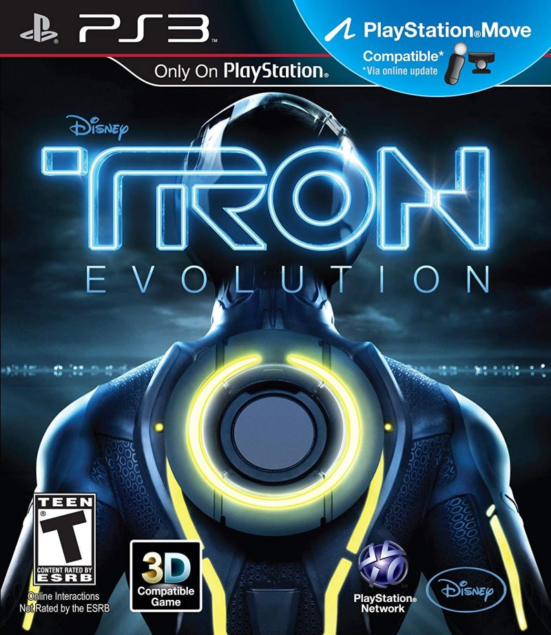 PS3 Tron Evolution MOVE