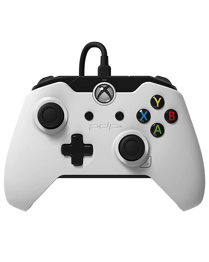 Gamepad PDP Wired Controller White XB1 / PC