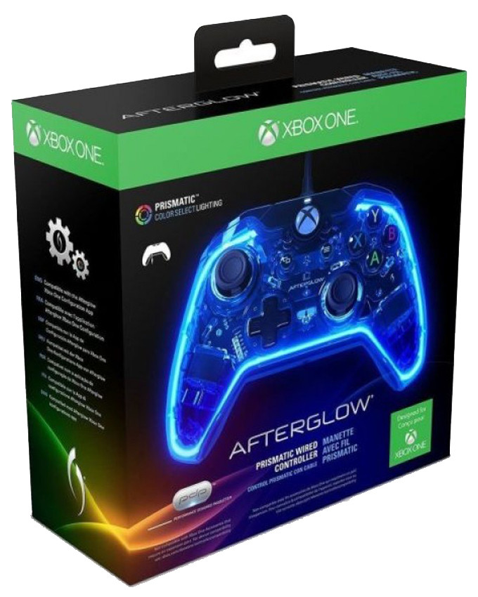 Gamepad PDP AfterGlow Prismatic Wired Controller XB1 PC