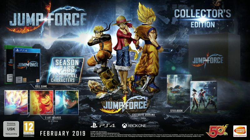 PS4 Jump Force Collectors edition