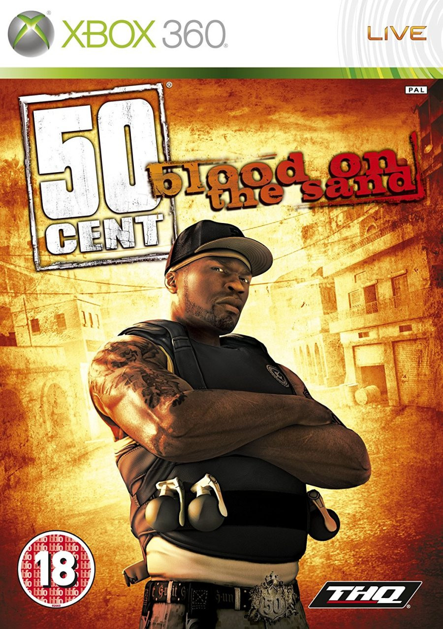 XBOX 360 50 Cent - Blood On the Sand