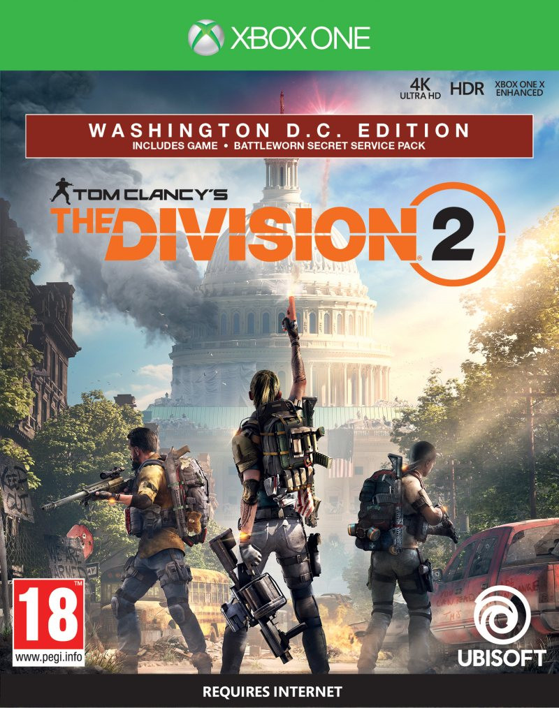 XBOX ONE Tom Clancys: The Division 2 - Washington DC Deluxe Edition
