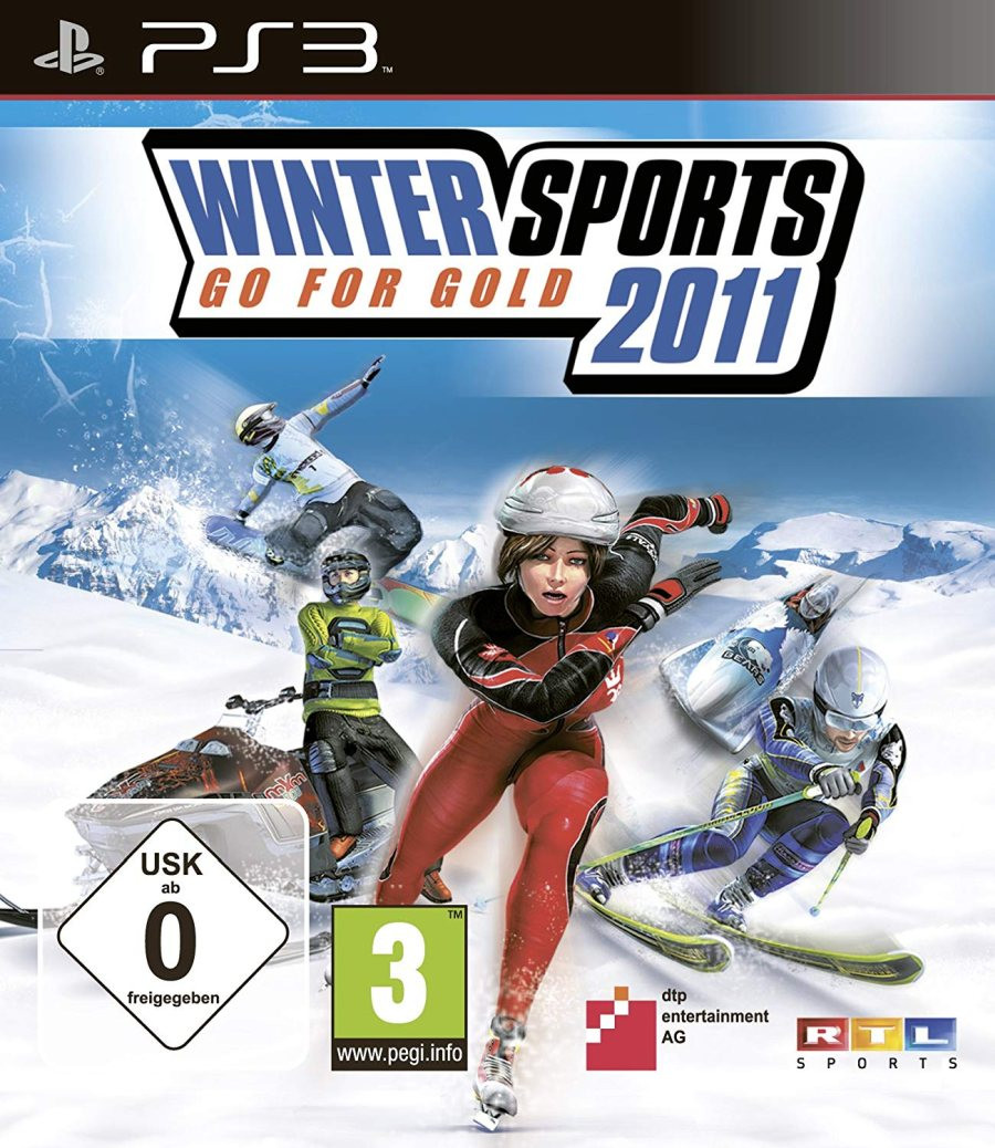 PS3 Winter Sports - Go For Gold 2011