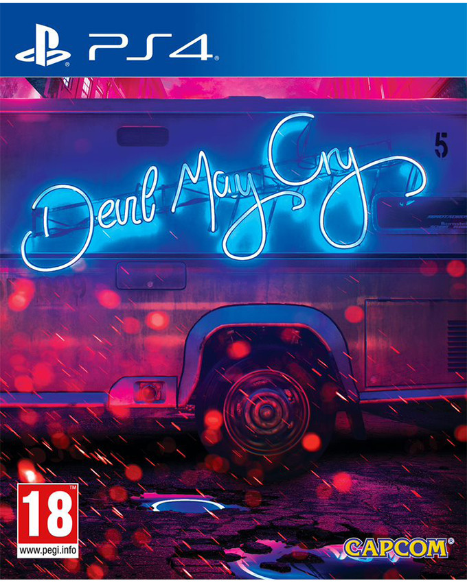 PS4 Devil May Cry 5 - Deluxe Steelbook Edition