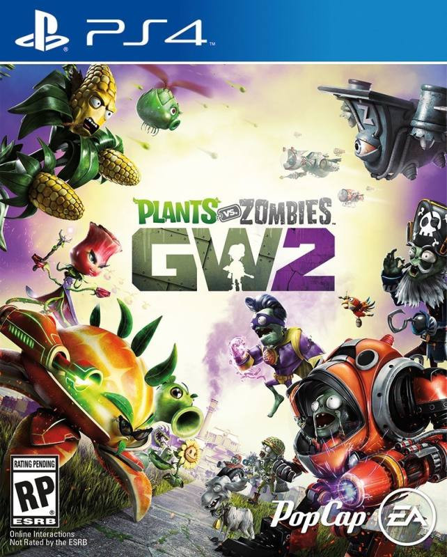 PS4 Plants vs Zombies Garden Warfare 2