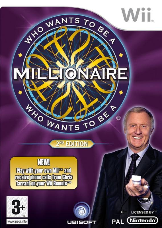 Wii Who Wants To Be A Millionaire 2nd Edition