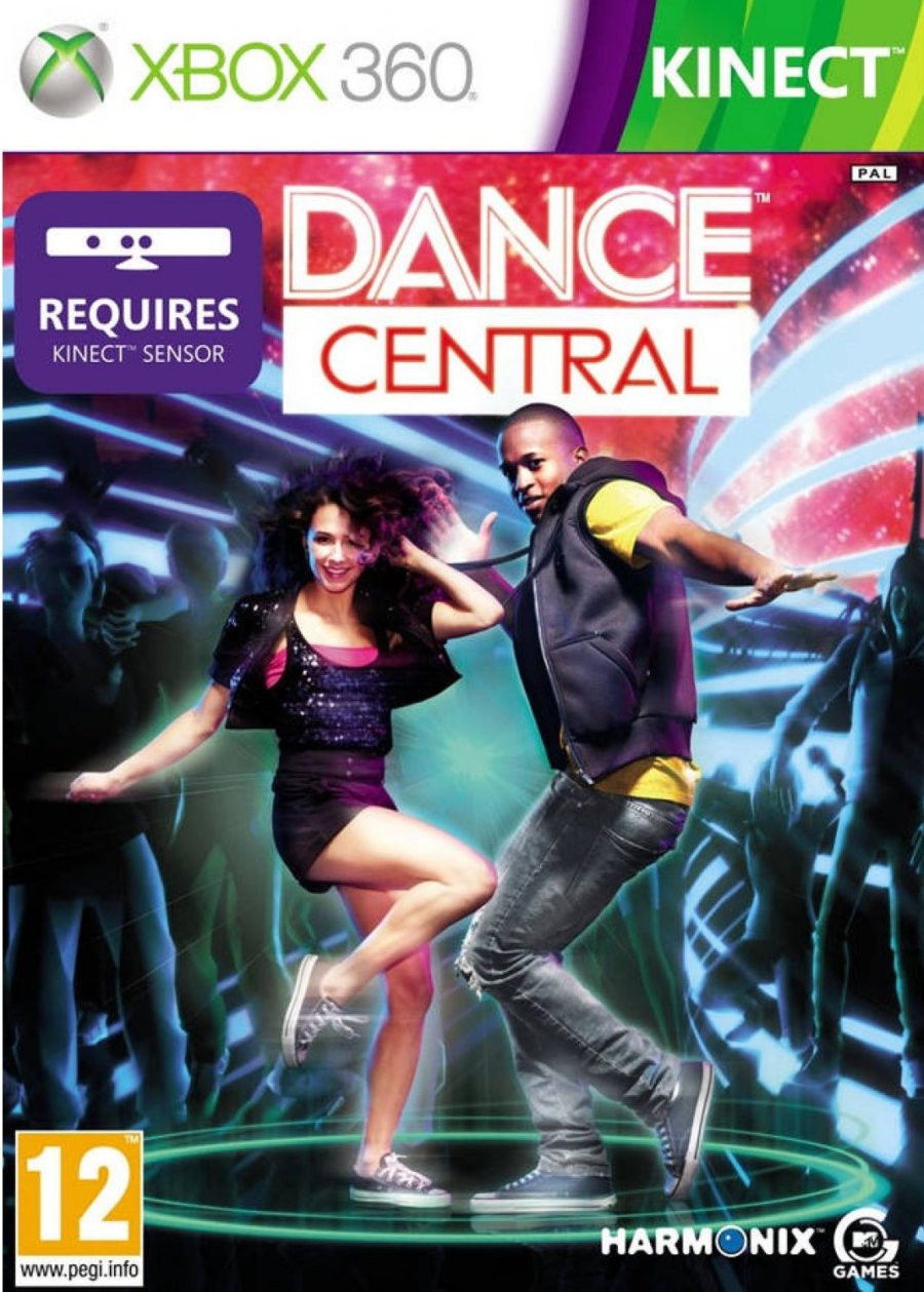 XBOX 360 Dance Central - KINECT