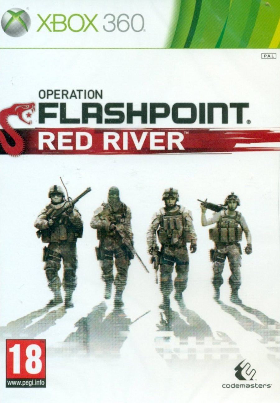 XBOX 360 Operation Flashpoint - Red River