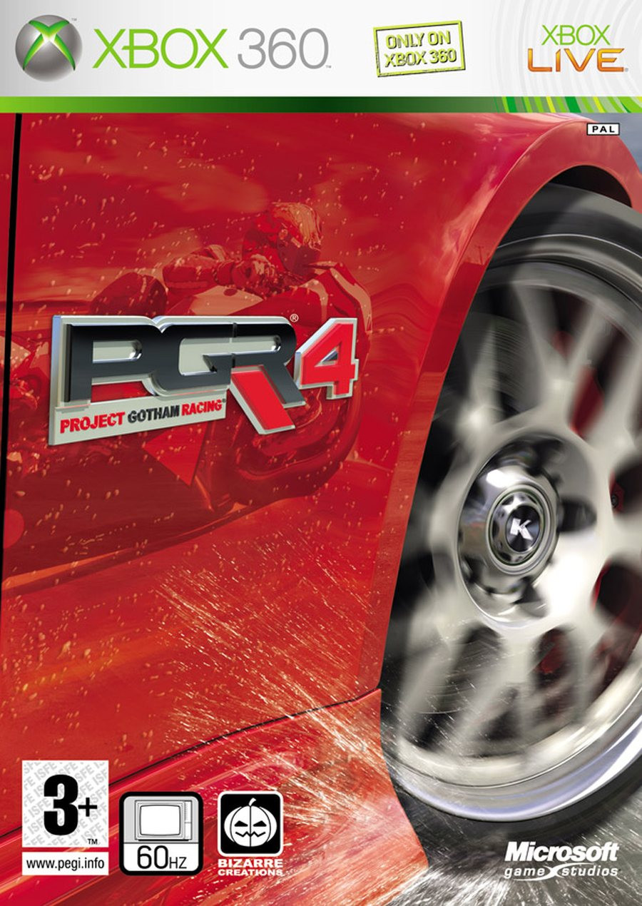 XBOX 360 Project Gotham Racing 4 PGR4