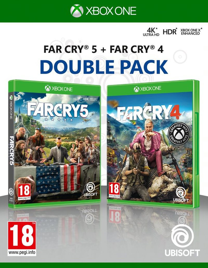 XBOX ONE Far Cry 4 & Far Cry 5 Double Pack