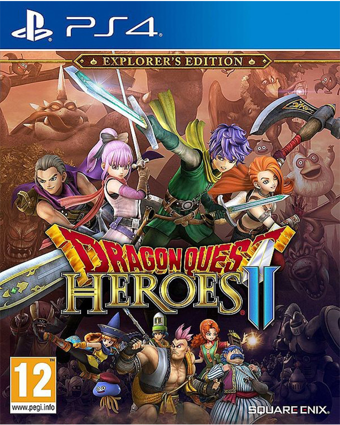 PS4 Dragon Quest Heroes 2 Explorers Edition