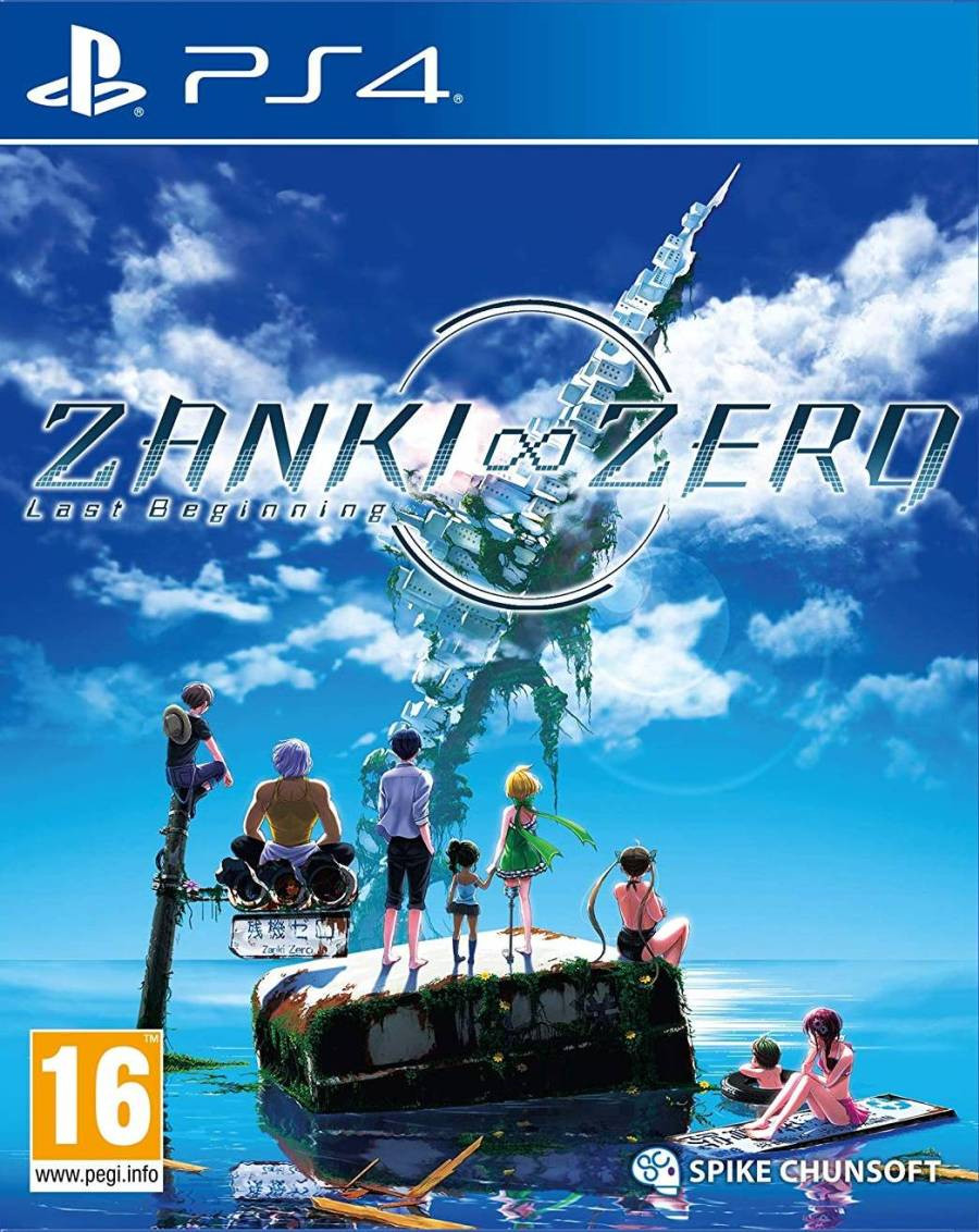 PS4 ZANKI ZERO - Last Beginning