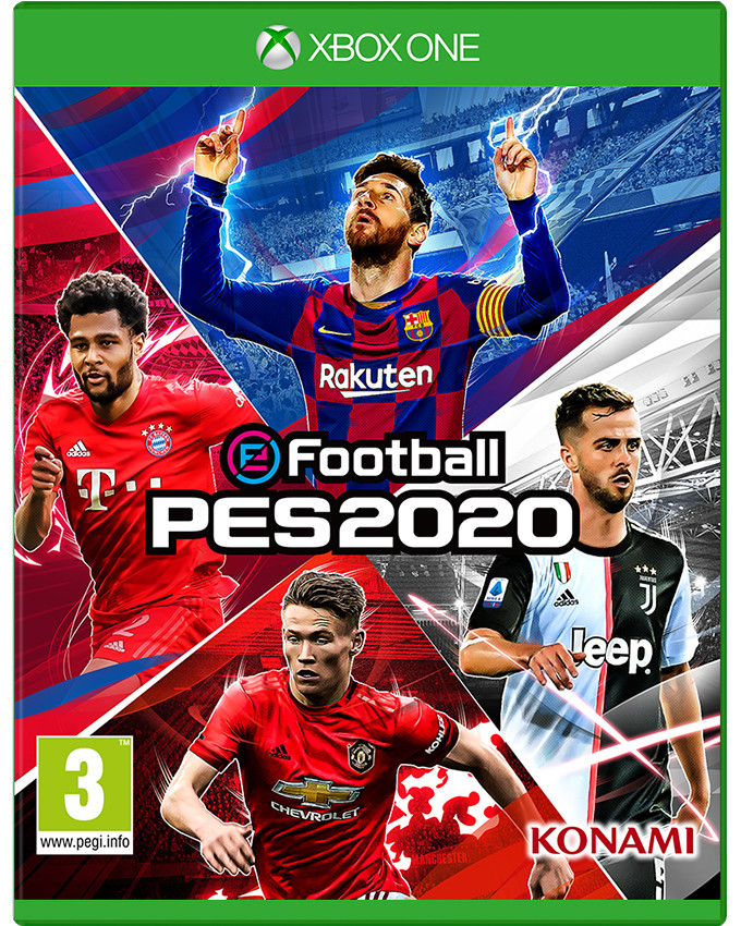 XBOX ONE eFootball PES 2020 - Pro Evolution Soccer 2020