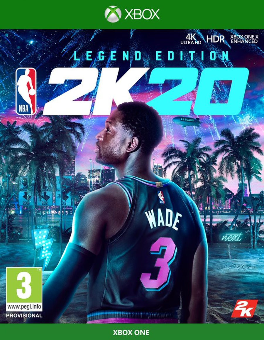 XBOX ONE NBA 2K20 - Legend Edition