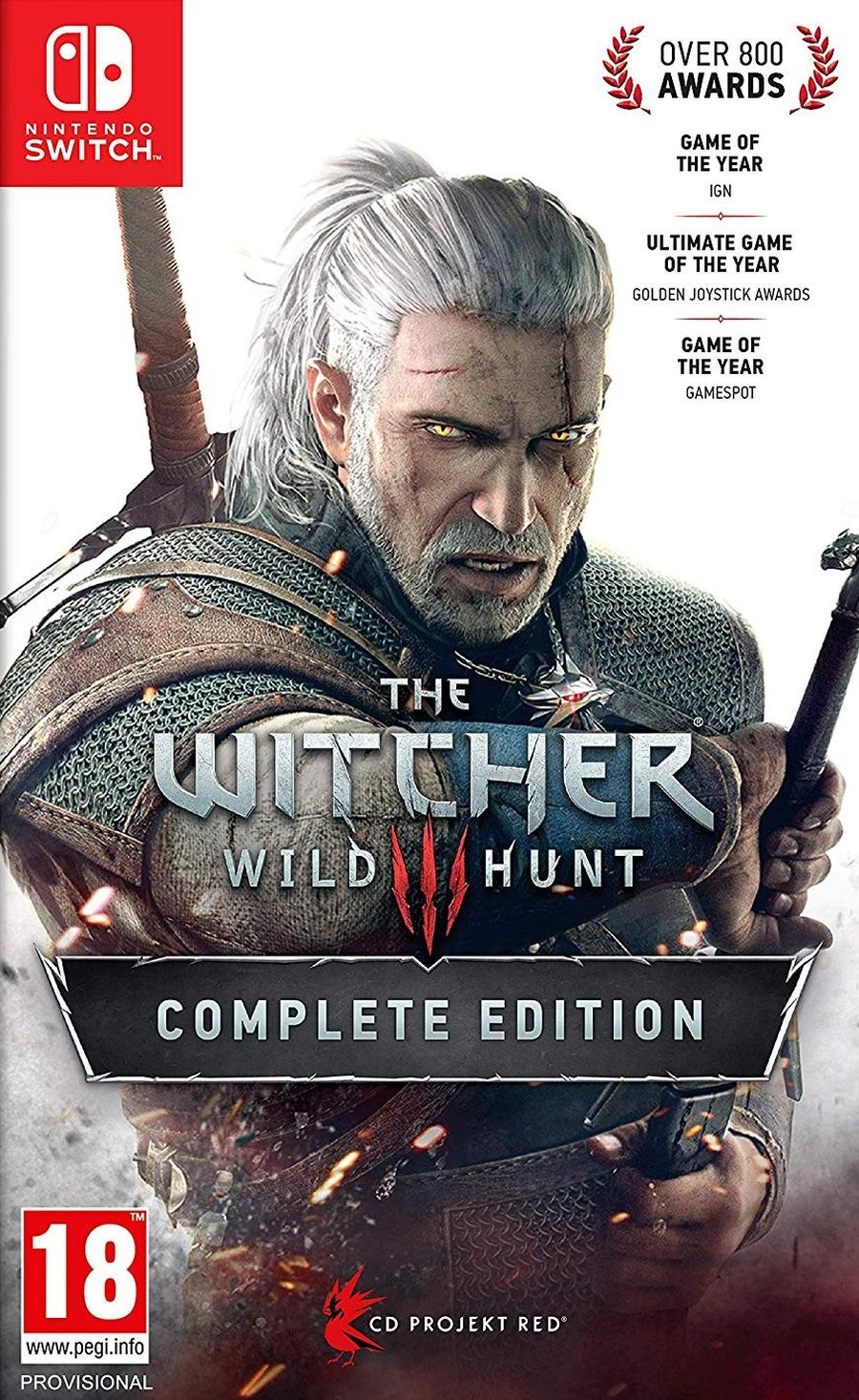 SWITCH The Witcher 3 Wild Hunt - Complete Edition