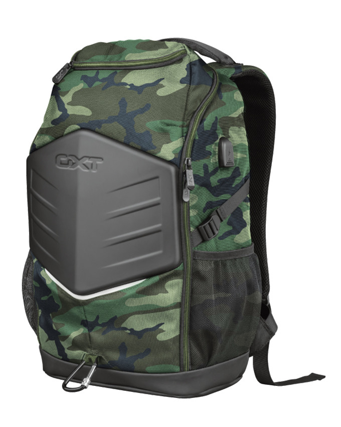 """Ranac Trust GXT 1255 Outlaw 15.6"""" Gaming Backpack Camo"""