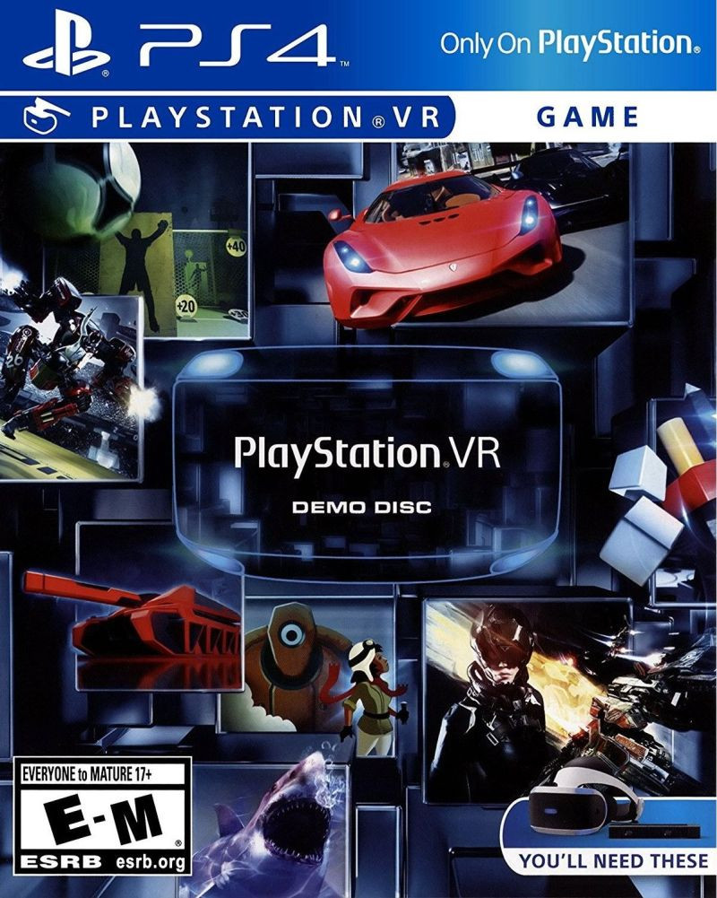 PS4 PlayStation VR Demo Disc
