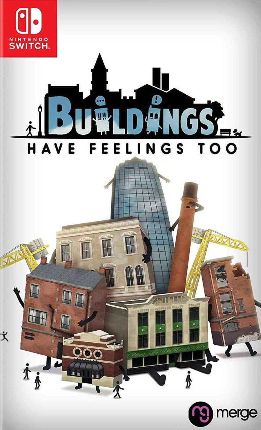 SWITCH Buildings Have Feeling Too!
