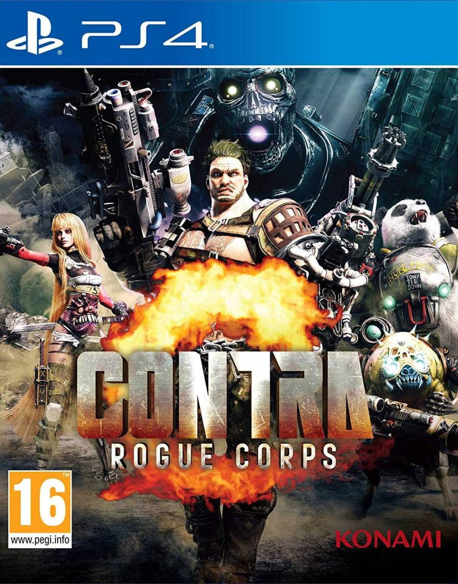 PS4 Contra - Rogue Corps