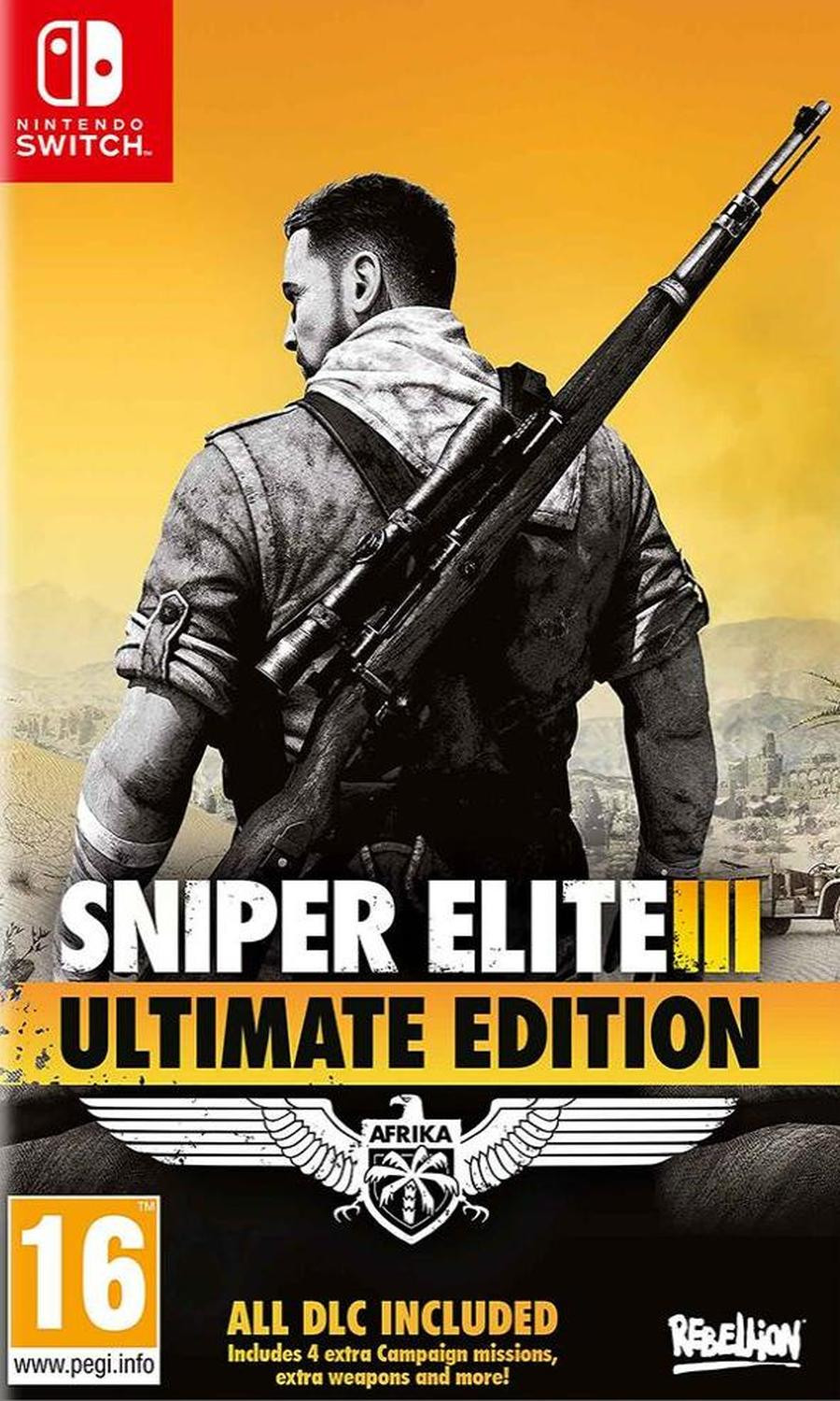SWITCH Sniper Elite 3 - Ultimate Edition