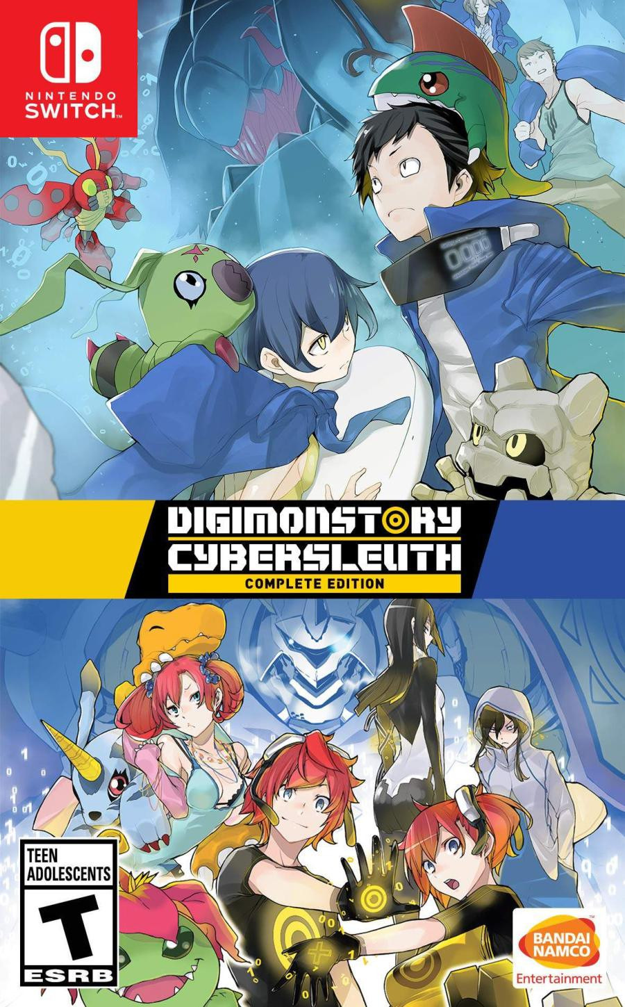 SWITCH Digimon Story Cybersluth Complete Edition