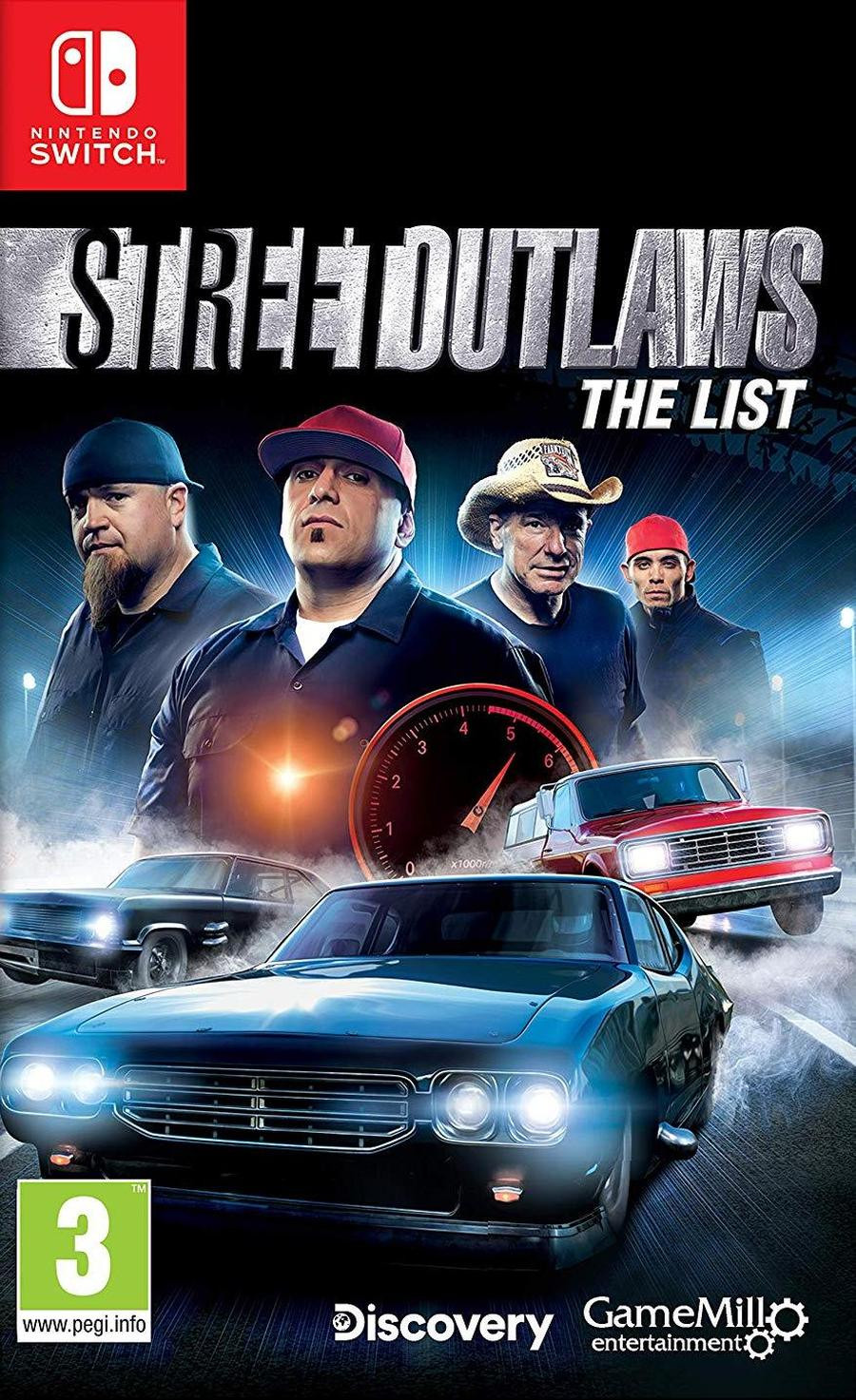 SWITCH Street Outlaws - The List