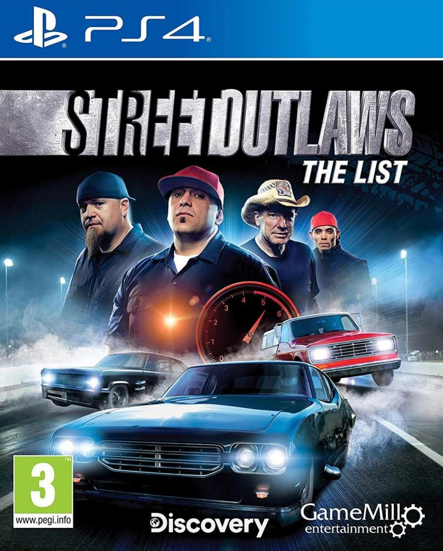 PS4 Street Outlaws - The List