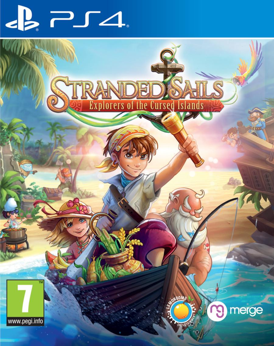 PS4 Stranded Sails - Explorers of the Cursed Islands