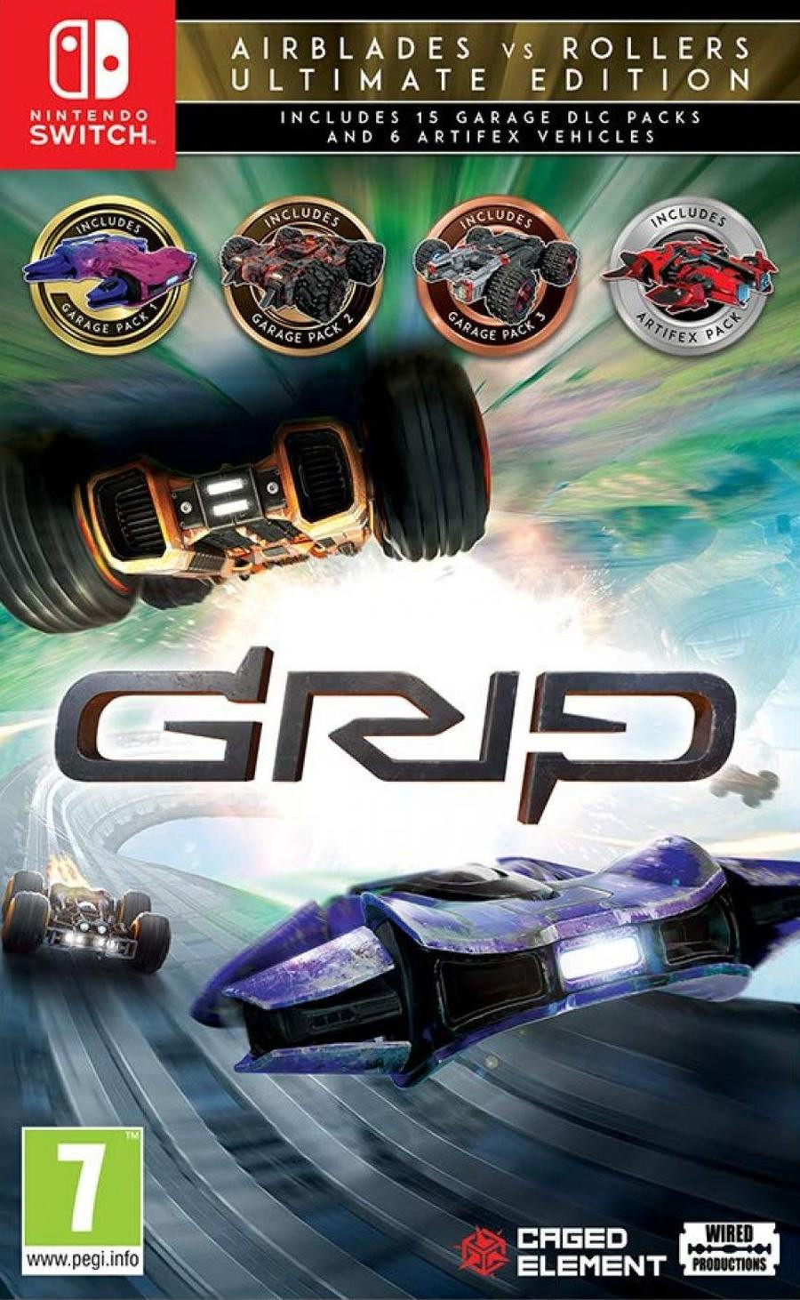 SWITCH GRIP - Combat Racing - Rollers vs AirBlades Ultimate Edition