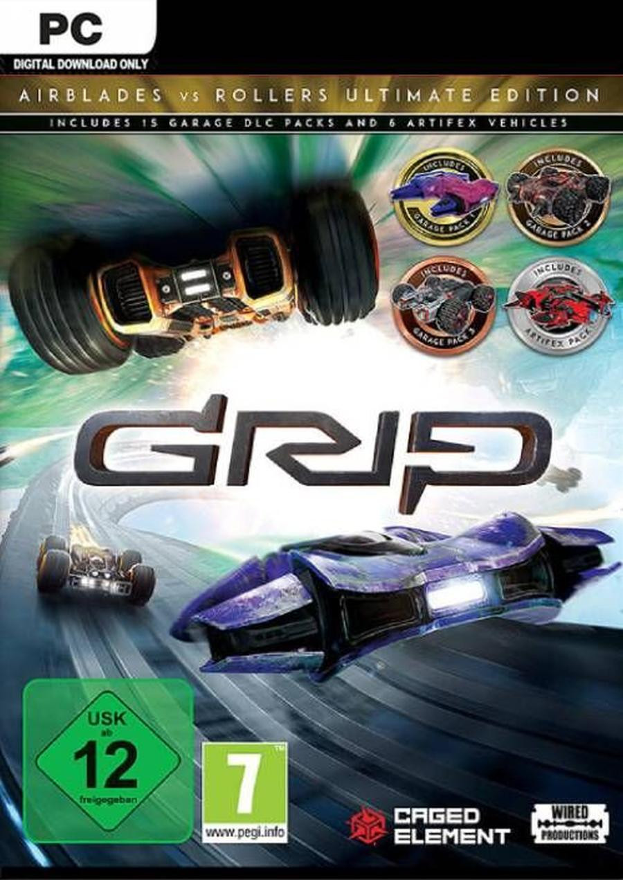 PCG GRIP - Combat Racing - Rollers vs AirBlades Ultimate Edition