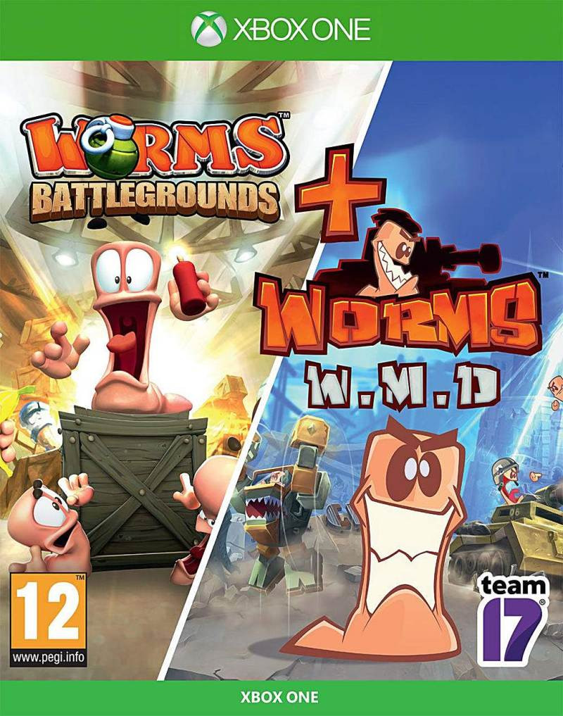 XBOX ONE Worms Battleground + Worms WMD