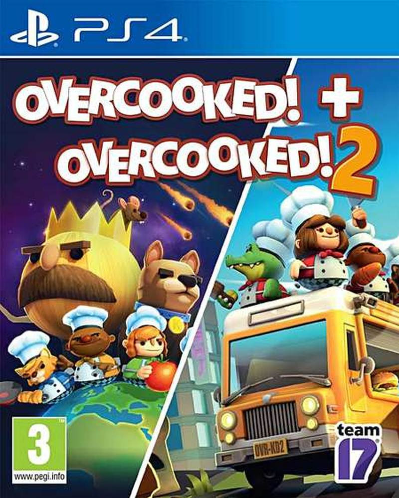 PS4 Overcooked Double Pack