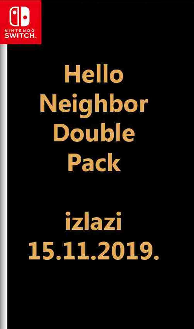 SWITCH Hello Neighbor Double Pack