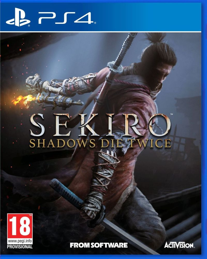 PS4 Sekiro - Shadows Die Twice Steelbook