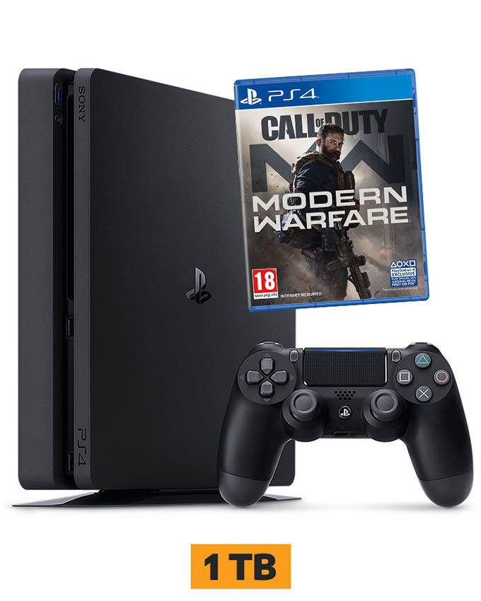 Konzola Sony PlayStation 4 Slim 1TB + PS4 COD Modern Warfare