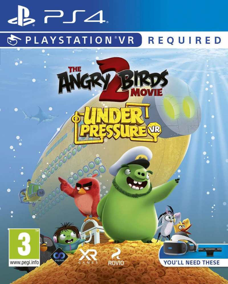 PS4 Angry Birds The Movie 2 VR