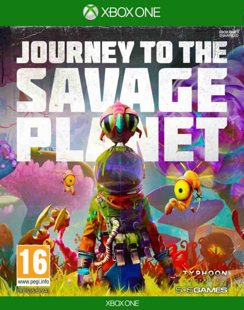 XBOX ONE Journey to the Savage Planet