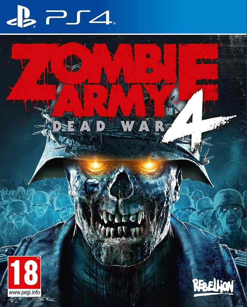 PS4 Zombie Army 4 - Dead War