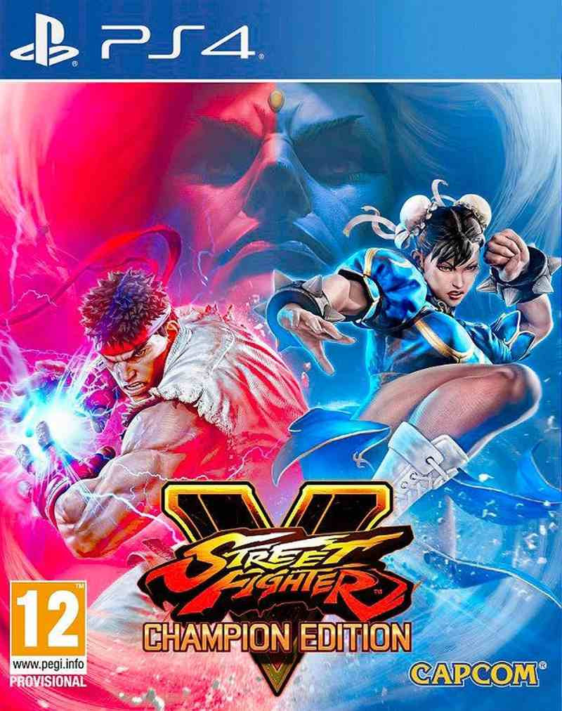 PS4 Street Fighter 5 - Champion Edition