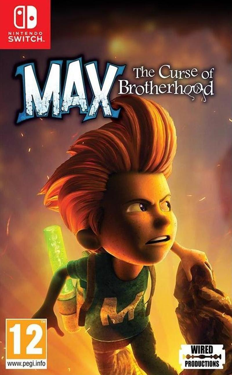 SWITCH Max - The Curse of Brotherhood