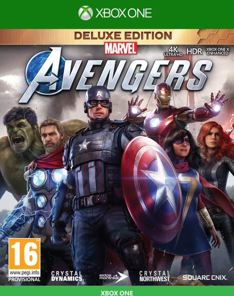 XBOX ONE Marvels Avengers - Deluxe Edition