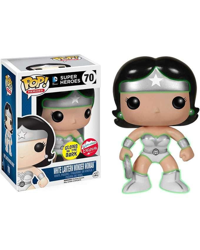 Figura POP! Wonder Woman - White Lantern