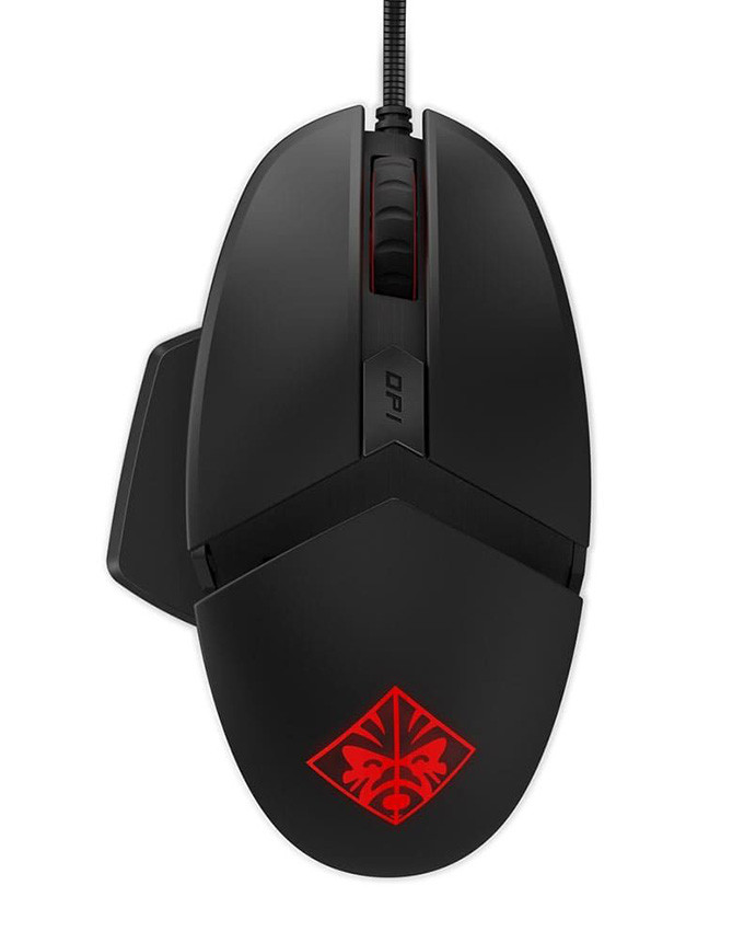 Gejmerski miš HP Omen Reactor Black/Red